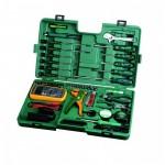 Универсальный набор инструмента, 53пр. для Электротехнических работ пласт. кейс.