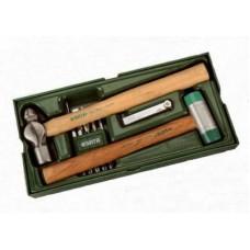 Инструм. Лоток (набор) Молотки и Выколотки.  4пр.