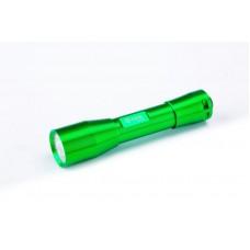 Фонарь светодиодный Aluminum (зелёный) LED  1 CREE