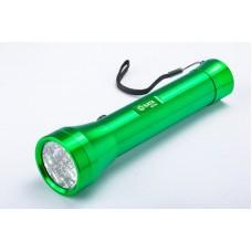 Фонарь светодиодный Aluminum (зелёный) LED 24 CREE