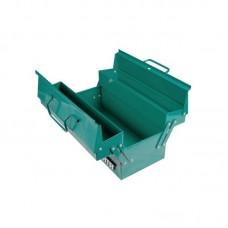 Инструментал.Ящик (430x200x175) металл. раскладной