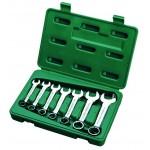 Ключи (набор)  7пр. Комбинированные укороч. (Metric) пласт.кор.