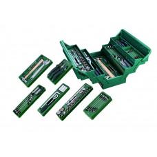 Инструмент (набор)  70пр. Комбинированный (автомобил./быт.) в раскл. мет. ящик. (430x200x200)
